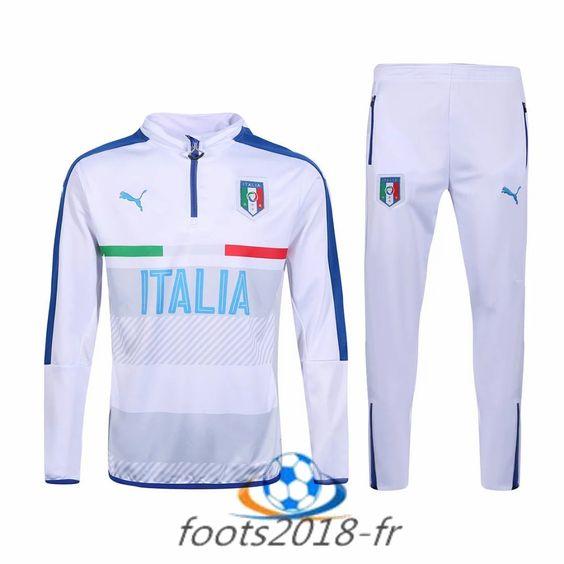 Nouveau survetement de foot italie blanc 2016 2017 prix survetement de foot 2016 2017 pas cher - Pantalon peintre blanc pas cher ...
