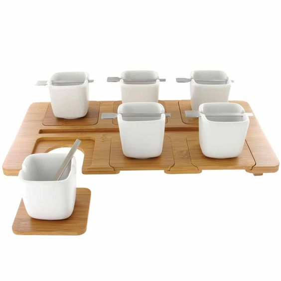Kookii Bamboo Coffee Set