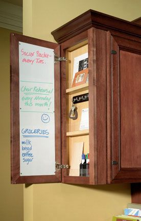 Hidden Message Center Cabinetry Products Semi Custom Kitchen Bath Cabinets