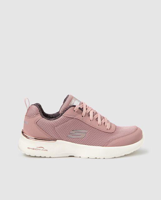 escribir una carta aeronave mendigo  Zapatillas deportivas de mujer Skechers de color rosa con plantilla memory  foam   Zapatillas deportivas mujer, Skechers, Zapatillas deportivas