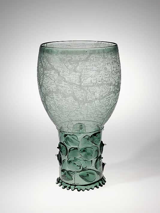 Goblet (Roemer), 17th century. The Metropolitan Museum of Art, New York.: