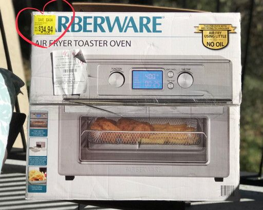 Major Score Farberware Air Fryer Toaster Oven At Walmart
