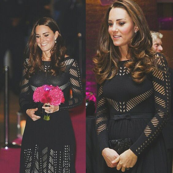 23 Oct 2014 The Duchess of Cambridge attended an Action on Addiction gala dinner It is her third public appearance since recovering from morning sickness The 32-year-old is around 13 weeks pregnant #katemiddletonpregnant #DuchessOfCambridge