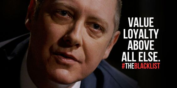 "The Blacklist 2.03 - ""Dr. Linus Creel"": Red Reddington stresses the importance of loyalty. Image courtesy of @NBCBlacklist"