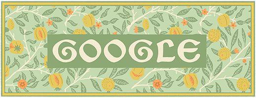 182º Aniversário de William Morris