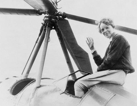Amelia Earhart on gyro - Impact Interior Prints
