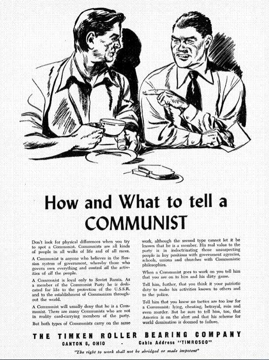 Essay on cold war ideology