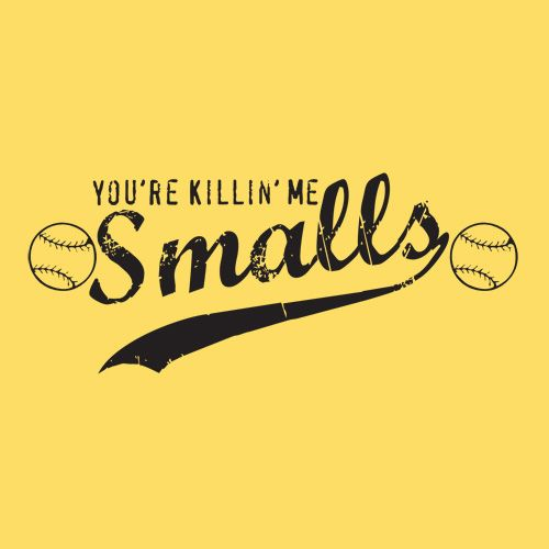 <3 Sandlot! I say this allll the time...Micah has even picked it up ;)
