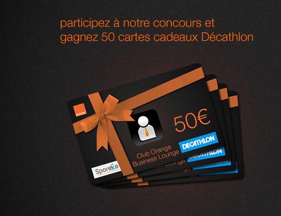 50 cartes cadeaux de 50€ à gagner chez Decathlon ! - Mes échantillons Gratuits