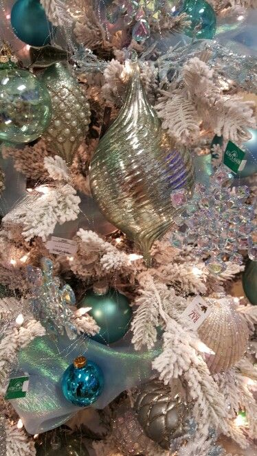 Beautiful glass ornaments