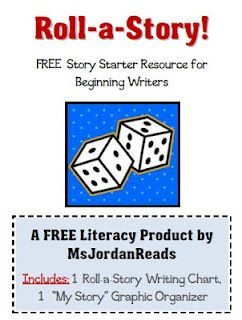 Classroom Freebies Too: {FREE} Roll-a-Story Writing Activity for Beginning Writers!