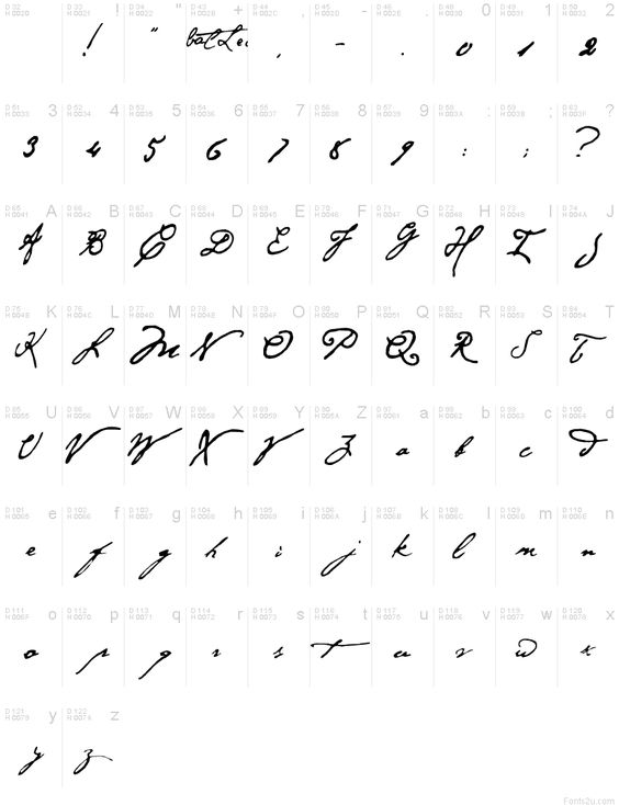 Hannibal Lecter font!! DUDE, I need to get this!!