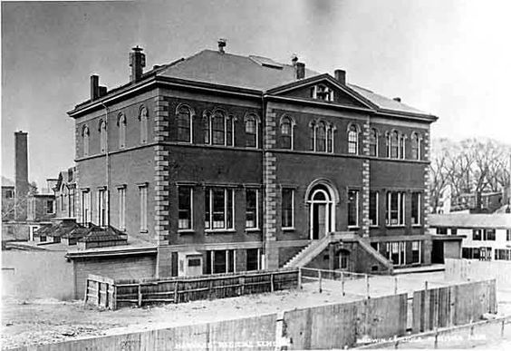 Discovering the pieces of Dr. George Parkman The Harvard Medical School at North Grove Street location, used from 1847 to 1883.  Image Credit: Wikipedia