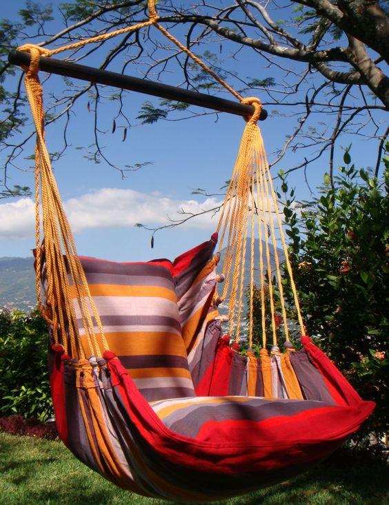 HOBEA Hängesessel Mallorca für den Garten oder für das Haus