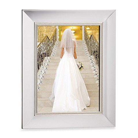 Lenox Jubilee Pearl 8 Inch X 10 Inch Picture Frame In Silver Wedding Frames Bridal Gifts Lenox