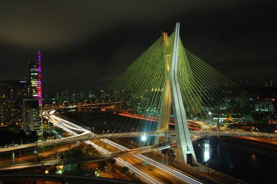 Ctavio Frias de Oliveira Bridge, Brazil | (10 Beautiful Photos)
