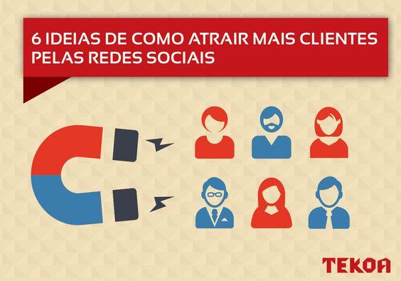 Como atrair clientes nas redes sociais