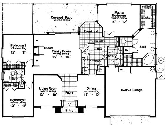 House plans with big pantries