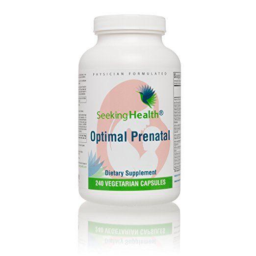 Seeking Health Optimal Prenatal Prenatal Vitamins For Women 240 Vegetarian Prenatal Vitamins Prenatal Vitamins Prenatal Prenatal Protein Powder