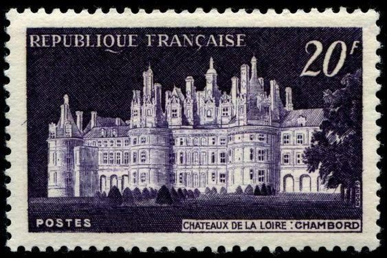 France 1952 engraved by Gandon