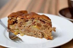 Herbs and Chocolate: Veganer Apfel-Birnen-Kuchen
