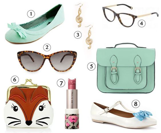 Get the Look — Jessica Day (New Girl) accessoires
