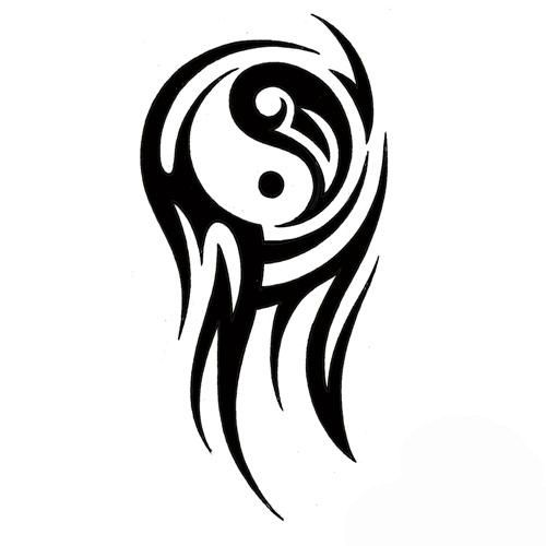 Google Image Result for http://tattoowoo.com/images/ying_yang_tribal_arm_tattoo_19.jpg