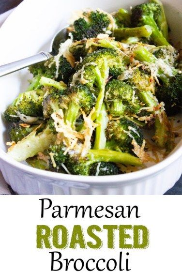 So easy and you get so much more flavor by roasting the broccoli! #broccoli #roastedbroccoli
