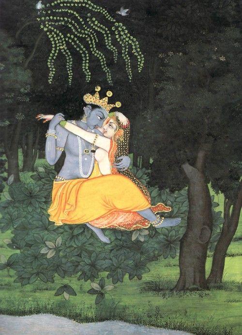 Radha & Krishna Yearning Union