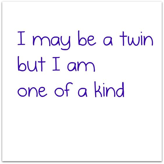 I'm a twin and some people I have met assume me and my sister are the same but just because we are twins doesn't mean we have the same personality...