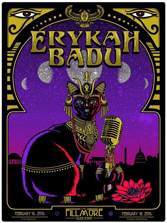 Erykah Badu - Matt Leunig - 2015 ----