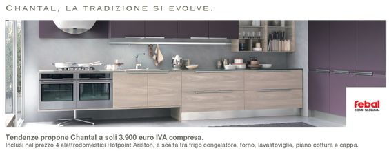 Cucine componibili Roma – Tendenze Febal   Tendenze Febal   Pinterest