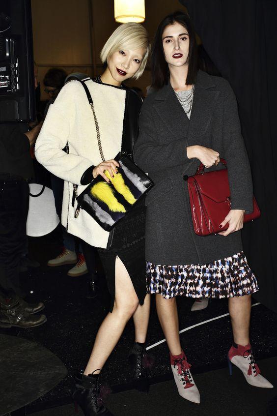 Rebecca Minkhof AW14-15 Fashion Show New York Backstage | Sonny Vandevelde