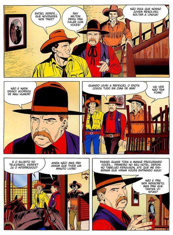 Tex Willer grátis: TEX ESPECIAL EM CORES - FOGO CRUZADO