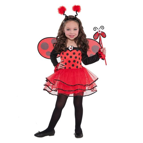 Child Butterfly Fairy Costume Girls Insect Book Week Day Fancy Dress Outfit New