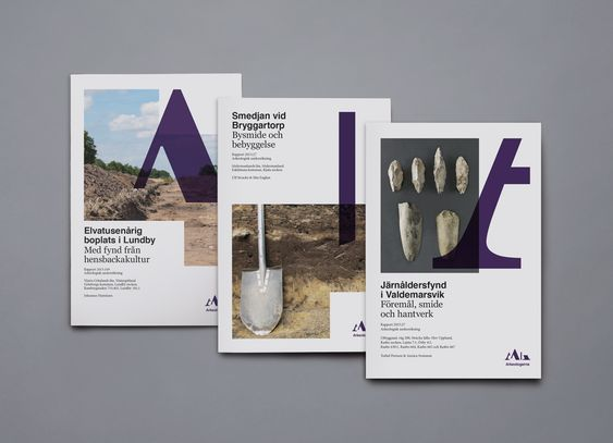 Bold – Visual identity for Swedish archeological consultants Arkeologerna