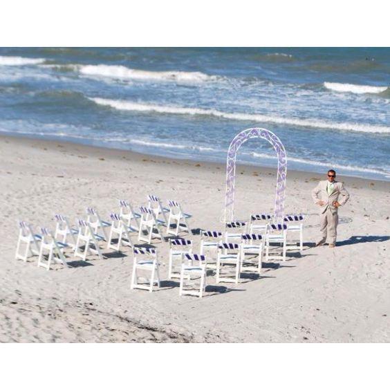 My DIY beach wedding. It was AWESOME