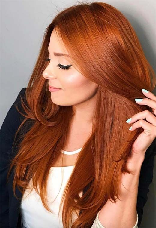 53 Fancy Ginger Hair Color Shades To Obsess Over Ginger Hair Facts Ginger Hair Color Hair Facts Copper Hair Color
