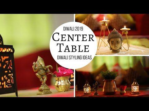 Diwali Decoration Center Table Diwali Decoration Tips To Decorate On Diwali Youtube Center Table Decor Diwali Decorations Center Table