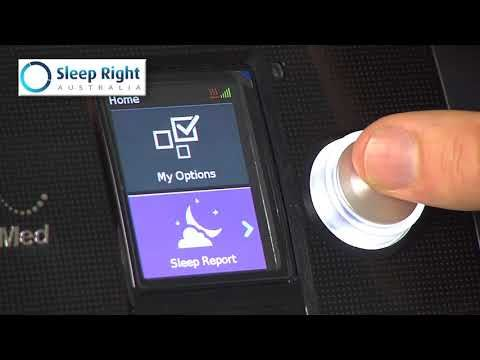 Accessing Menus Resmed Airsense 10 Cpap Device Youtube Cpap