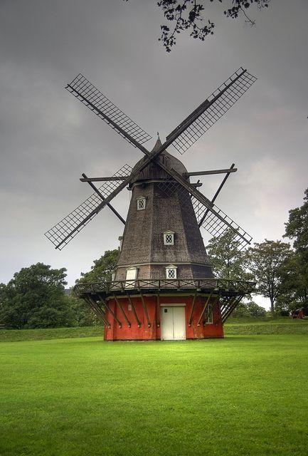 Copenhagen Windmill, Denmark