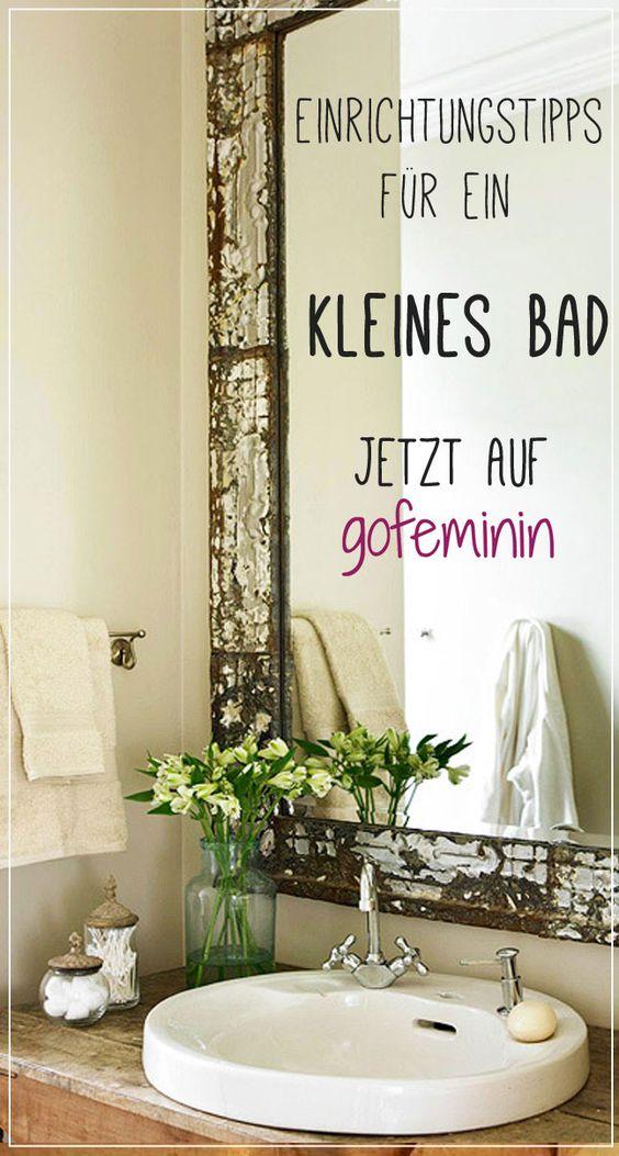 Du hast ein kleines Bad und möchtest es stilvoll und praktisch einrichten? Hier findest du heraus, wie das geht: http://www.gofeminin.de/wohnen/kleines-bad-einrichten-s1516607.html