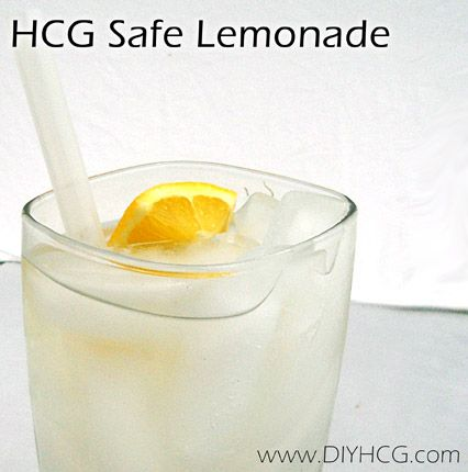 HCG Diet Phase 2 Recipe - Lemonade