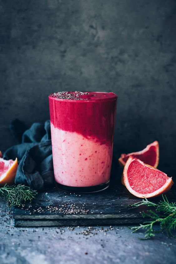 Immune Boosting Grapefruit Smoothie