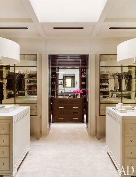 The dressing room in the home of Nashville philanthropists and photography collectors Jennifer and Billy Frist.