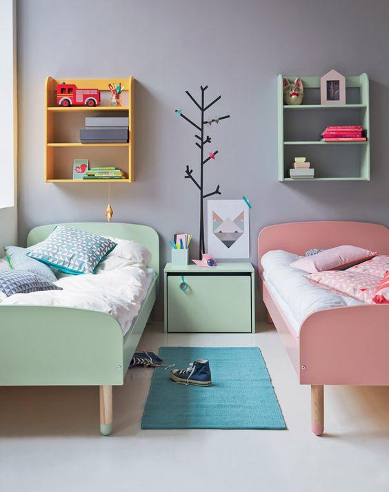 Idée de chambre pour deux enfants / Bedroom for brother and sister