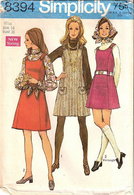 1969 Simplicity Pattern by cindyiscrafty, via Flickr