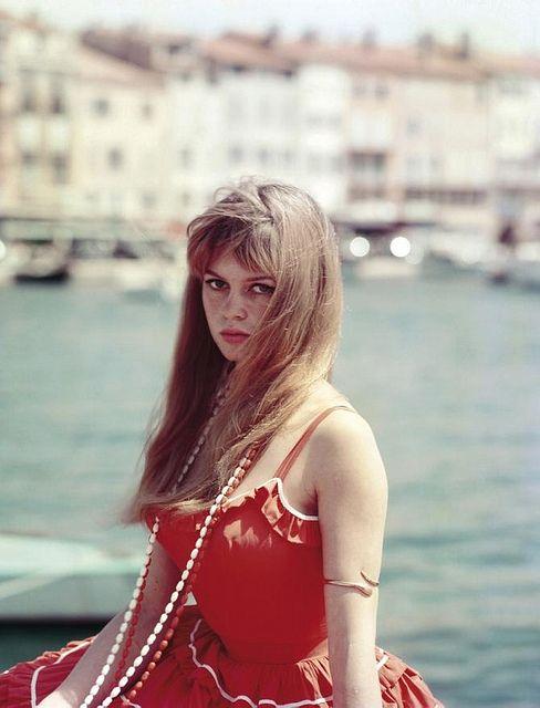 Brigitte Bardot, 1950s.