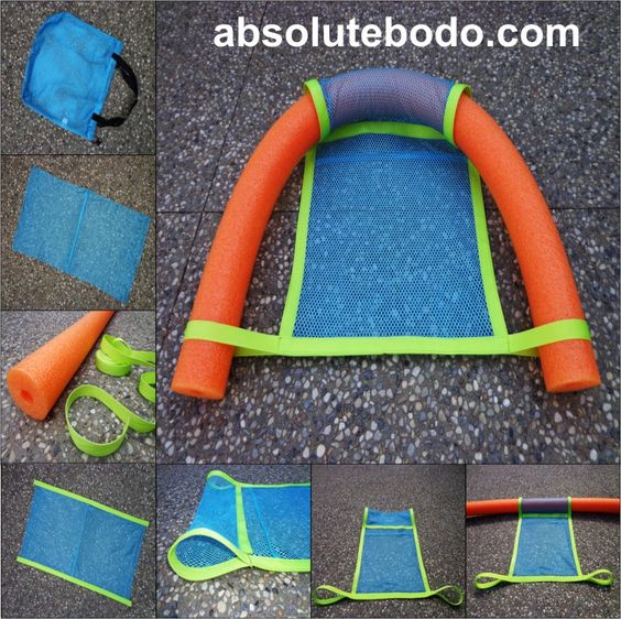 Image Gallery Oversized Pool Noodle Chair