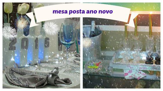 MESA POSTA / ANO NOVO/RÉVEILLON/LETICIA ARTES/2016